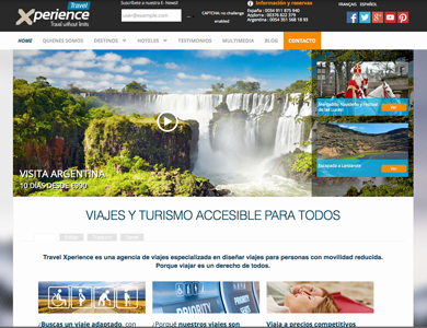 Travel Xperience : Consultoria, desenvolupament web i manteniment.